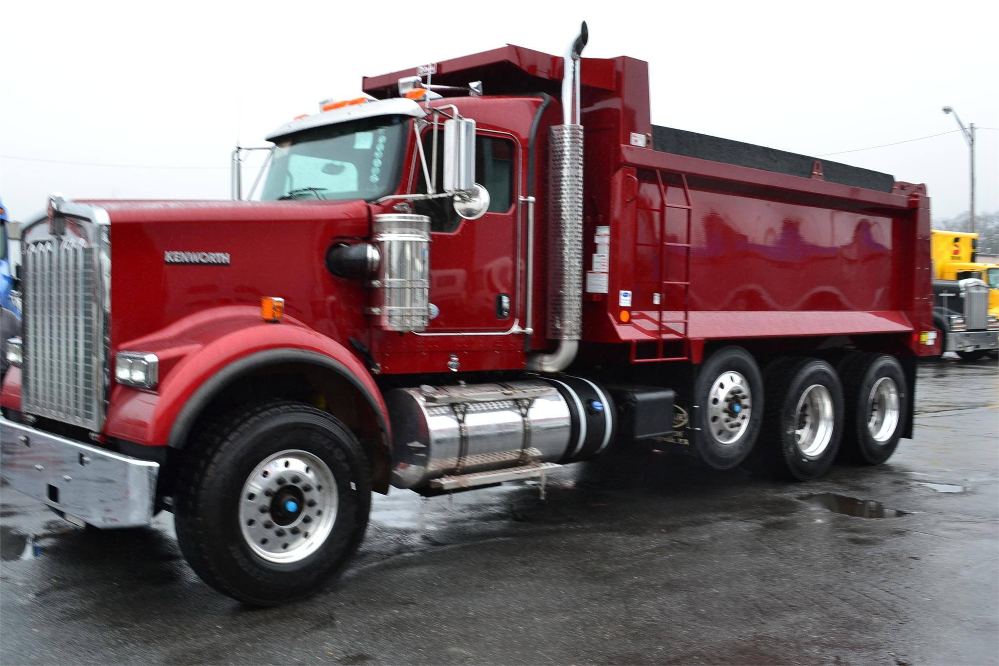 2015 Kenworth W900, Landover MD - 111814708 ...Kenworth Dump Trucks