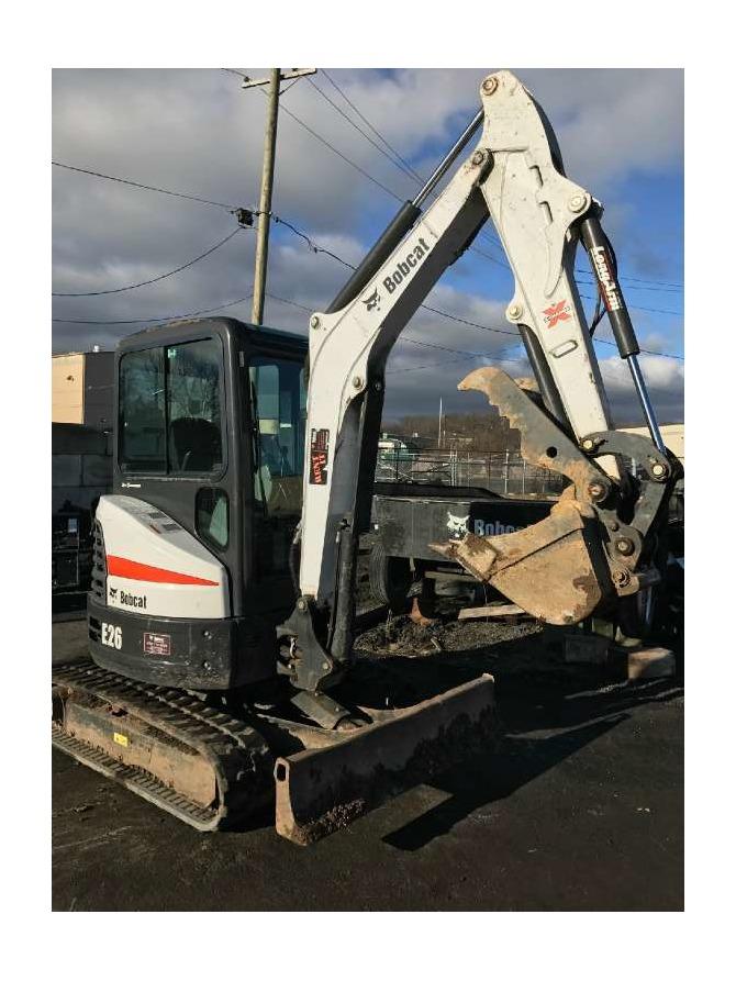 2015 Bobcat E26 T4 Long Arm Excavators, Totowa NJ - Bobcatused.com