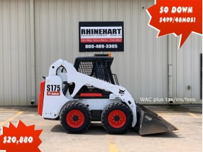 2012 BOBCAT Skid-Steer Loaders S175